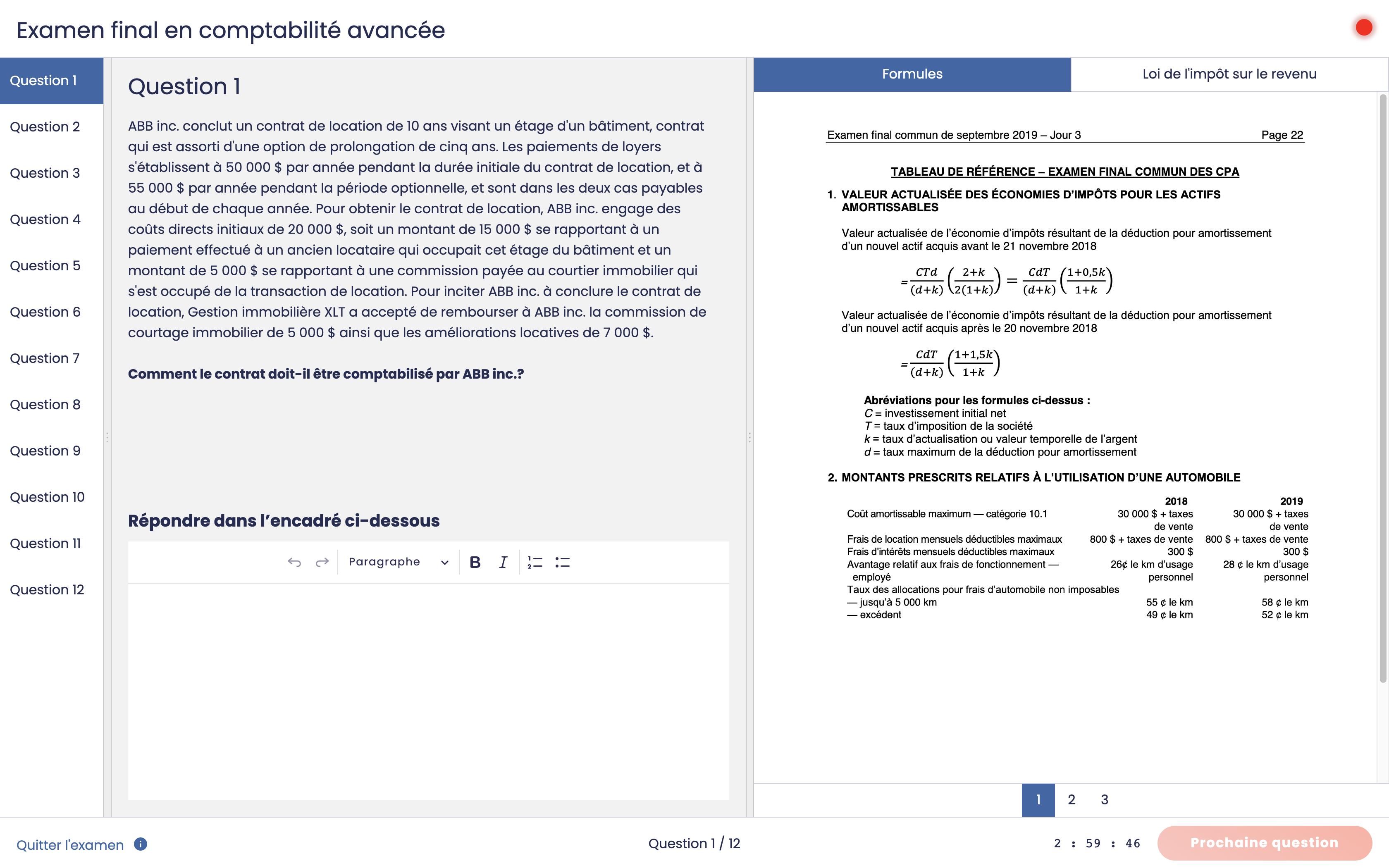 Environnement de rédaction - PDF